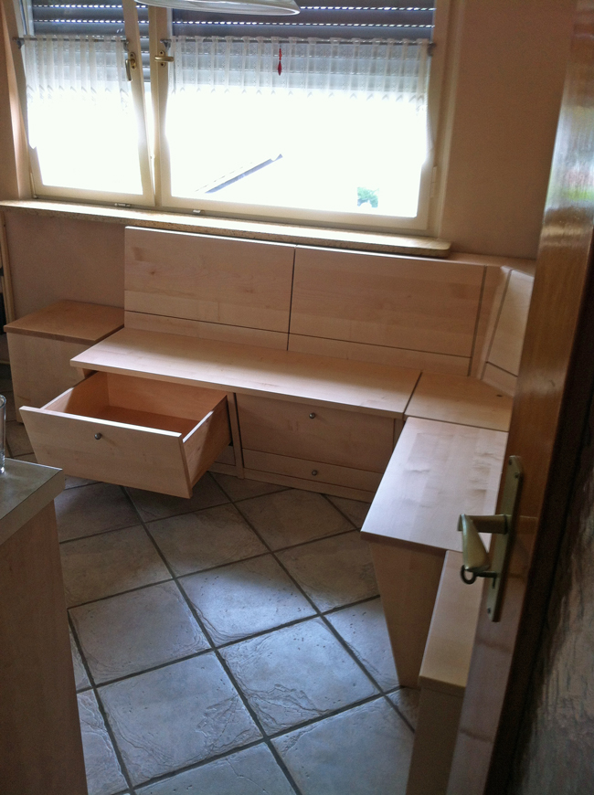 k cheneckbank ahorn massiv schreinerei. Black Bedroom Furniture Sets. Home Design Ideas